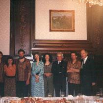 Ensamble Balkanes en la Embajada de Rumania en Buenos Aires, 1996