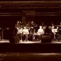 En Alemania cantando con la Orquesta Típica Imperial de Buenos Aires, 2005