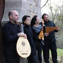 Con Ensamble Maitas, junto a Joansa Maravilla, Irene Filandera y Luisa Bahillo