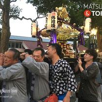 〈青山熊野神社例大祭〉宵宮渡御 @2017.09.30 GCY17_02