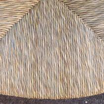 Paillage brut en paille des marais (laiche)