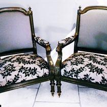 Neubezug Barock-Sessel