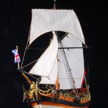 39-60  年代   1674     船籍  イギリス    縮尺 1/64     キットメーカー ウッディジョー Woody Joe     製作者   市川 三郎(一般)  Saburo Ichikawa
