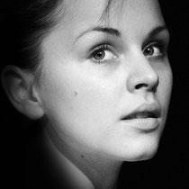 Portrait schwarz weiss