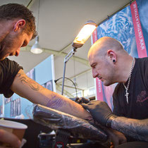 Tattoo Connvention Fürth 2012 Viktortattoo