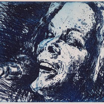 """""""Beth H.."""", Radierung, Aquatinta, ca 20 x 25 cm"""