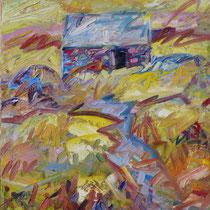 Ile de Batz, Öl/Lw 100 x 100 cm