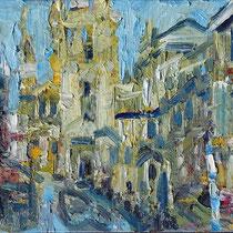 never been to Venice II , Öl/Lw 60 x 80 cm, 2019