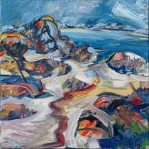 """Theven Kerbrat"", Öl/Lw 60 x 60 cm, 2021"