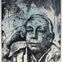 """Käthe Kollwitz"", Radierung, Aquatinta, ca 24,5 x 20,5 cm"