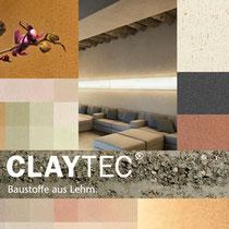 CLAYTEC Baustoffe aus Lehm