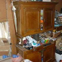 débarras d'une maison à Ornans, doubs, 25, AVANT INTERVENTION....... entreprise de déblaiement-débarras AHLEN