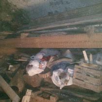 débarras d'une cave à Besançon, doubs, 25, 25000, AVANT INTERVENTION....... entreprise AHLEN