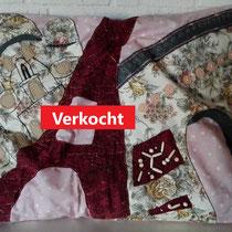 handgemaakt kussen Parijs - 60x70 - verkoopprijs € 170