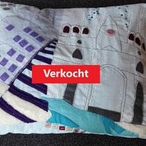 handgemaakt kussen Trondheim - 60x70 - verkoopprijs € 170