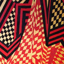 ANDORRA  uit de serie REISSCHILDERINGEN - olieverf op doek - 50 x 40 - houten baklijst -verkoopprijs € 210