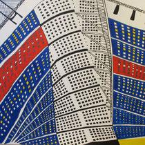 MALMO uit de serie Stadssonnetten - acrylverf op doek -  90 x 120  - houten baklijst - verkoopprijs € 1195
