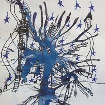 Aleatorisches Verfahren- Tinte