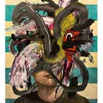 Raúl Herrera. S/T. Acrílico sobre papel. 50 x 70 cm. 2011.