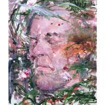 Raúl Herrera. Oil and acrylic on canvas. 70 x 50 cm. 2012.