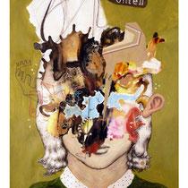 Raúl Herrera. S/T. Acrílico y tinta sobre papel. 50 x 70 cm. 2011.