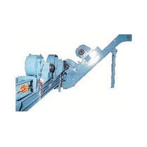 Ligne de refroidissement à air pulsé par ventilateurs centrifuges