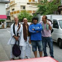 Freunde aus Neuseeland mit Andi san