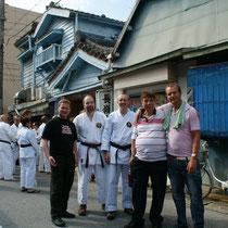 mit Martin OMalley aus Irland und Frank Baehr aus Kanada