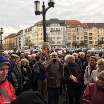 Stadtspaziergang mit Bürgermeister Reinhard Naumann