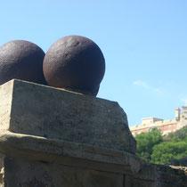 Elba, vor dem Domizil Napoleons.