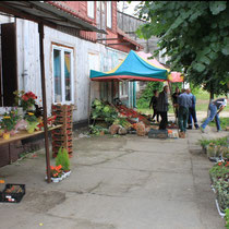 Einkaufsmöglichkeit im Dorf