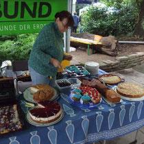 Kuchenstand von BUND und RBN