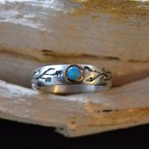 """""""Es war einmal-Ring"""", hier mit Opal"""