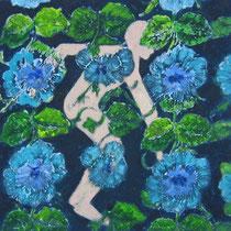 Flowerpower   45x45, 2010
