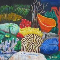 Wasserparadies    50x50, 2000