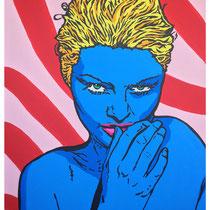 Tease Me Baby | acrylic & spraypaint on canvas  | 130x170 cm | 51x67 inches