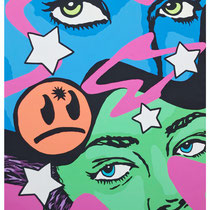 Double Trouble | acrylic on canvas | 130x170 cm | 51x67 inches