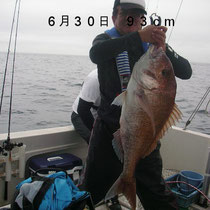 6月30日 93cm
