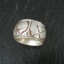 Ring Silber/Kupfer