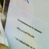 """Bobbio, Valli Cattelan """"LE CREATURE DI VALLI"""" ospite di Abbigliamento di Alpegiani Antonietta Contrada porta Nova 6"""