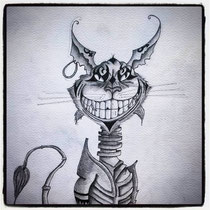 The Cheshire Cat - alice madness di Barbara Carminati