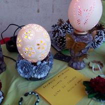 Le uova scolpite di Angela Pircu