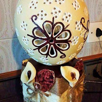 Le uova scolpite di Angela Lucutar