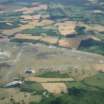 Lasham Airport, ein Blick aus dem Kranich III. Foto: Auer