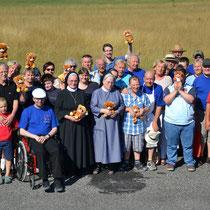 Gruppenfoto zum Abschluss eines gelungenen Flugtags. Foto: FElster