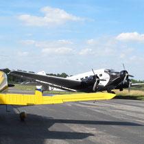 Begegnung mit der Ju 52 der Lufthansa. Foto: jkob