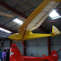 Briefing Hangar in Lasham, Foto: Auer