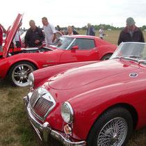 Passend zur Rally, grosser Auftritt für andere Oldtimer. Foto: J.Auer
