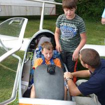 Zukünftige Piloten? Foto: R.Klingl