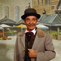 Ludwigs weitere Leidenschaft, Theater, Garchinger Bauernbühne (2003). Foto: LFuss